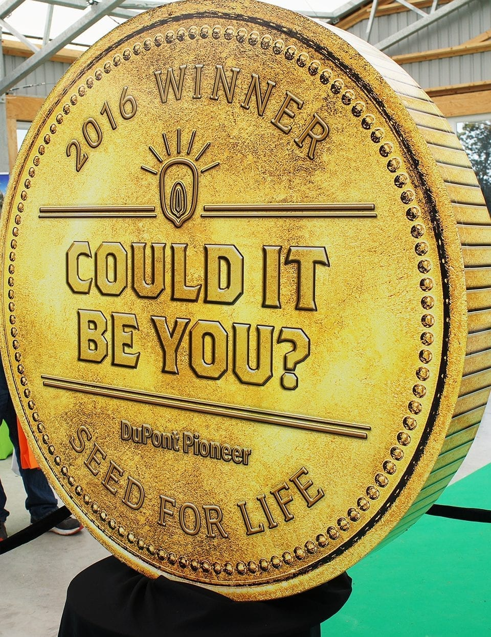 DuPont Pioneer Seed for Life grand prize winner guerilla