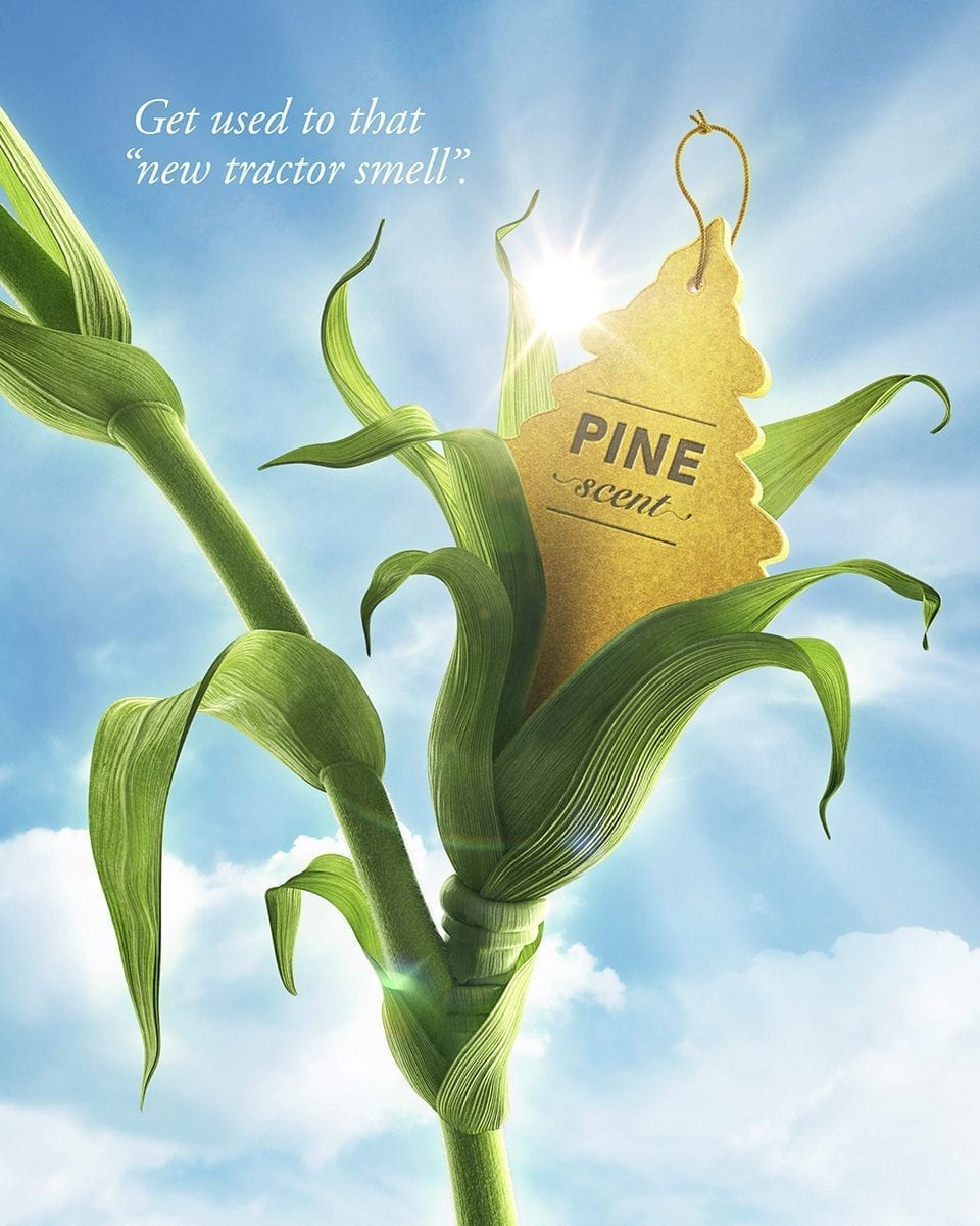 DuPont Pioneer Seed for Life campaign imagery