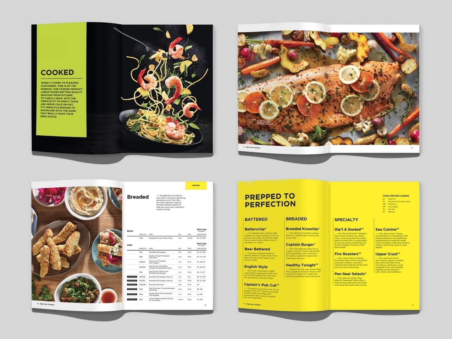 High Liner Culinary product catalog