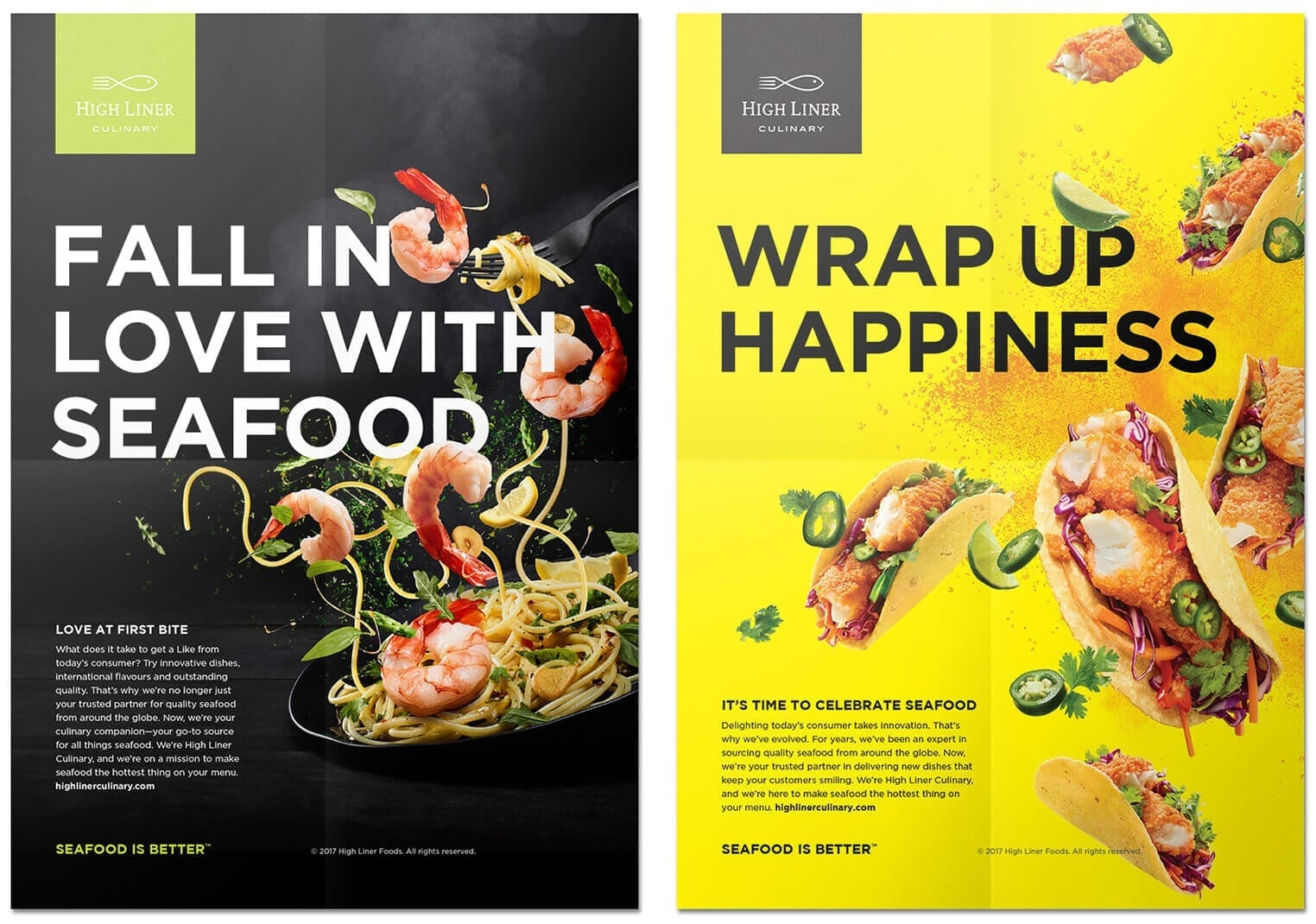 High Liner Culinary posters