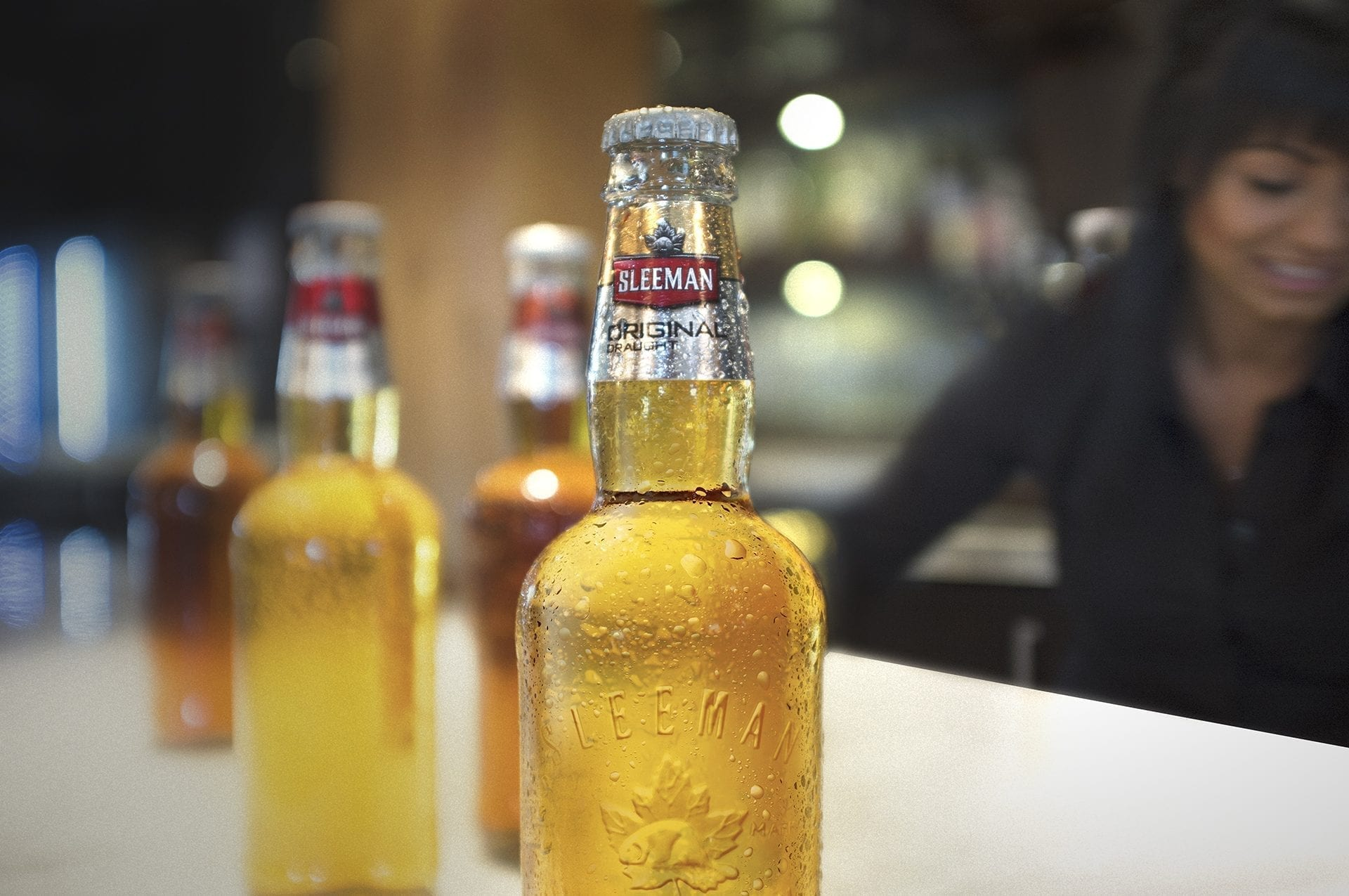 Sleeman beer bottle design concept