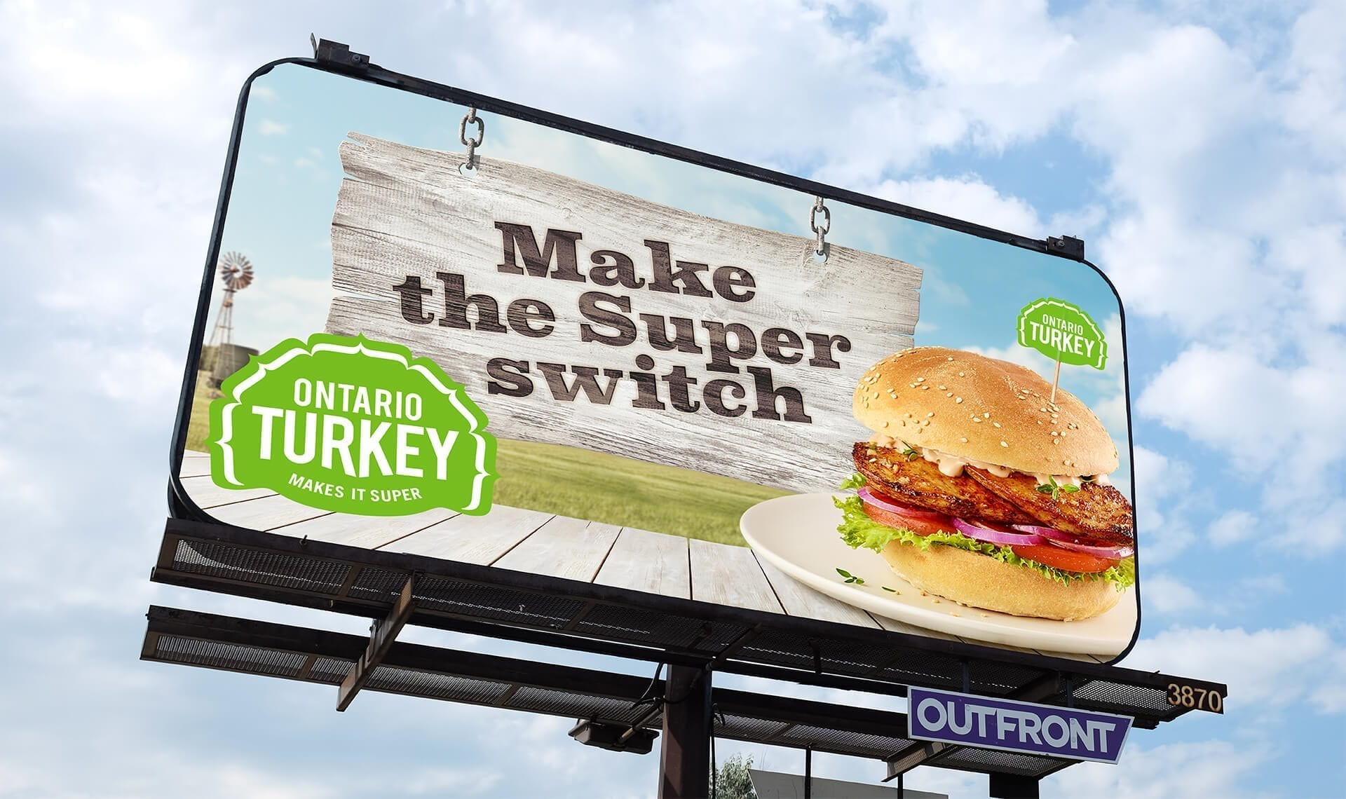 Ontario Turkey out-of-home billboard
