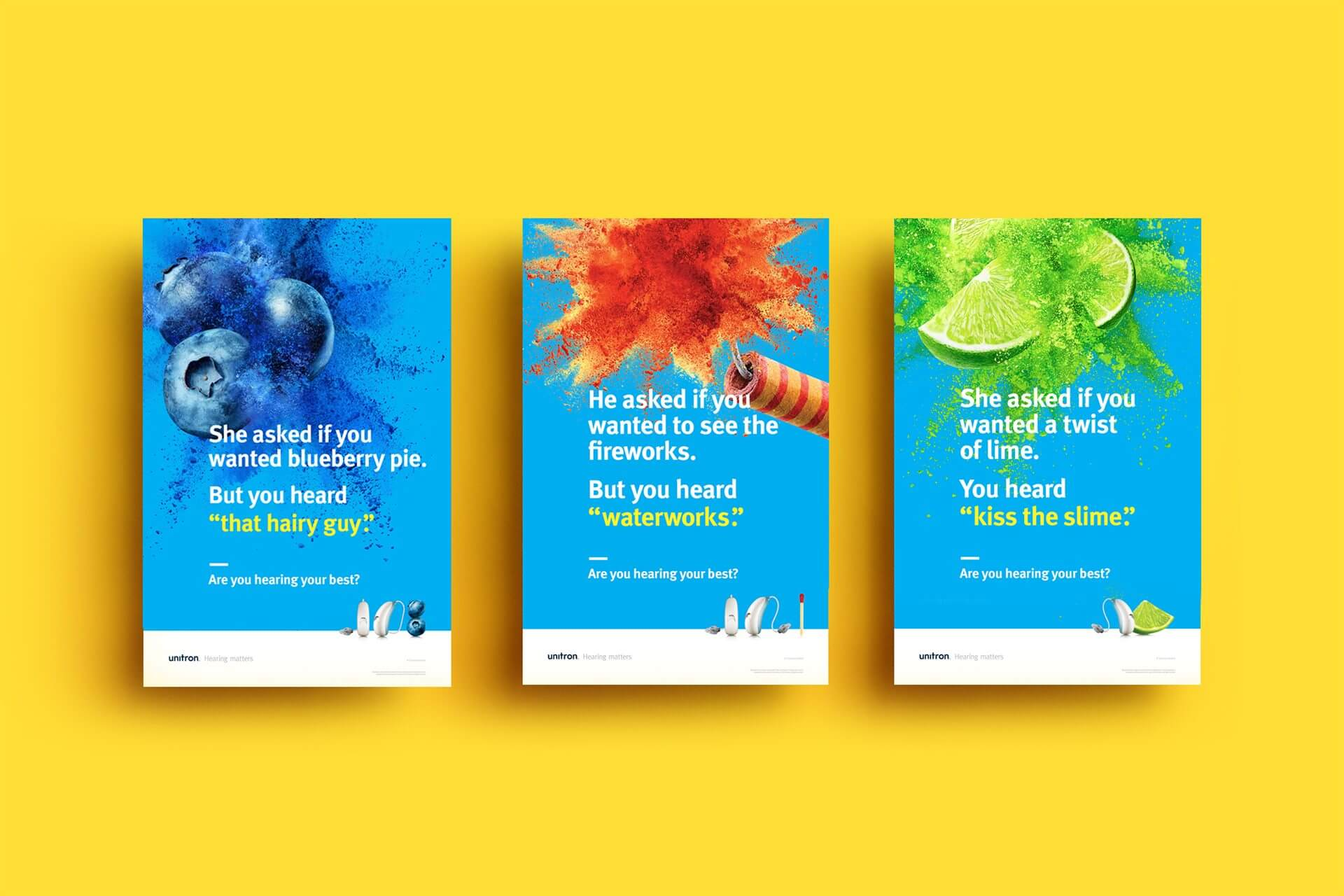 Unitron Moxi Now in-clinic posters