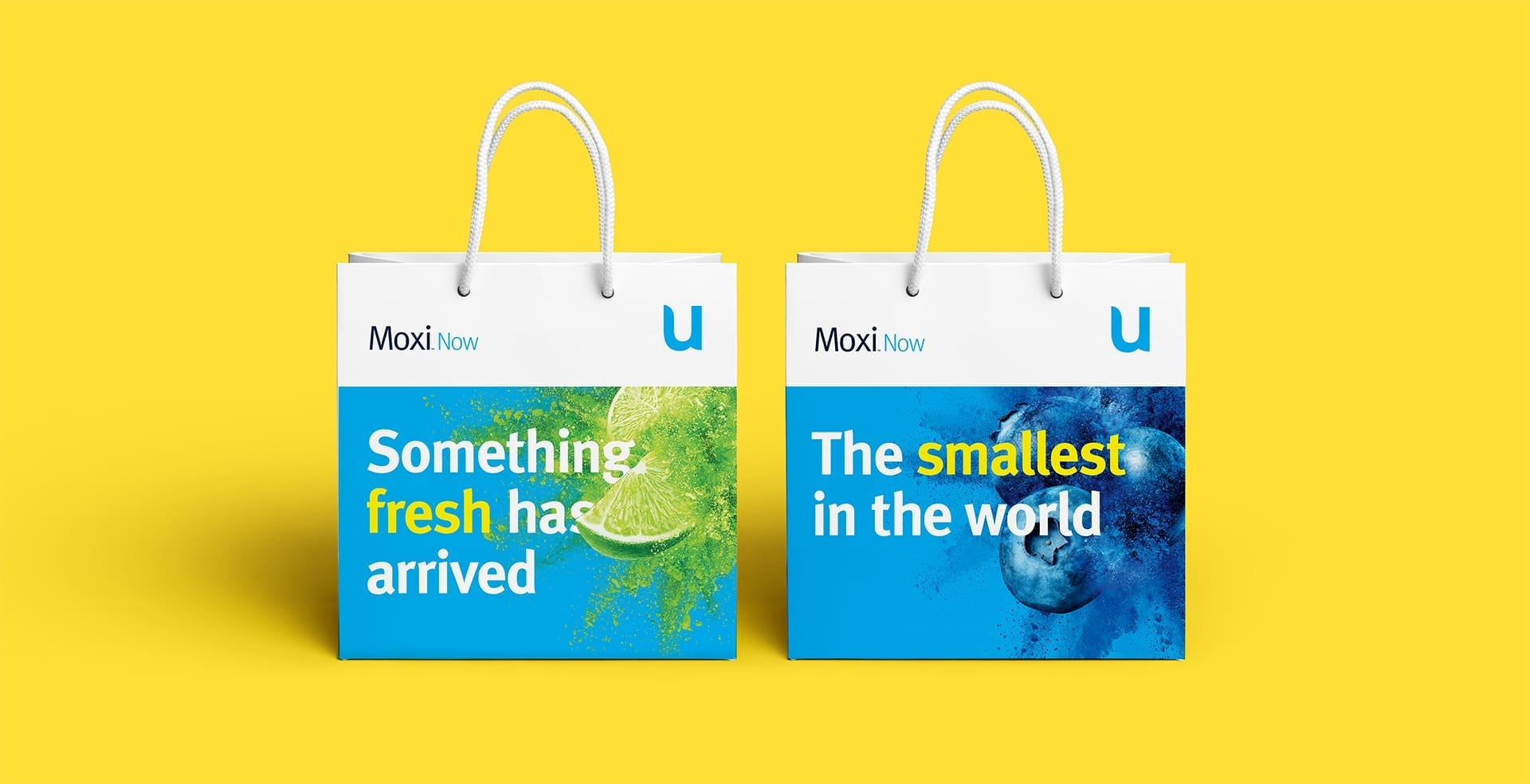 Unitron Moxi Now retail sales bags